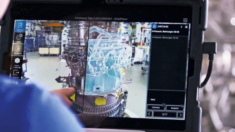 Vorteilhaft: Die Digitalisierung macht auch in der Produktion gerade vieles einfacher.