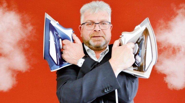 Spezialist für Elektrokleingeräte: Jochen Weber, Geschäftsführer von Rowenta. Foto: Scheffler