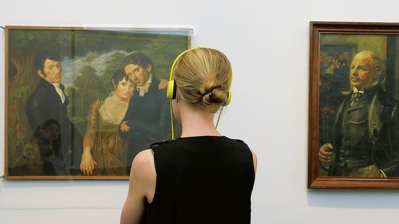 "… Im ""Transparenten Museum"" … Foto: Hamburger Kunsthalle"