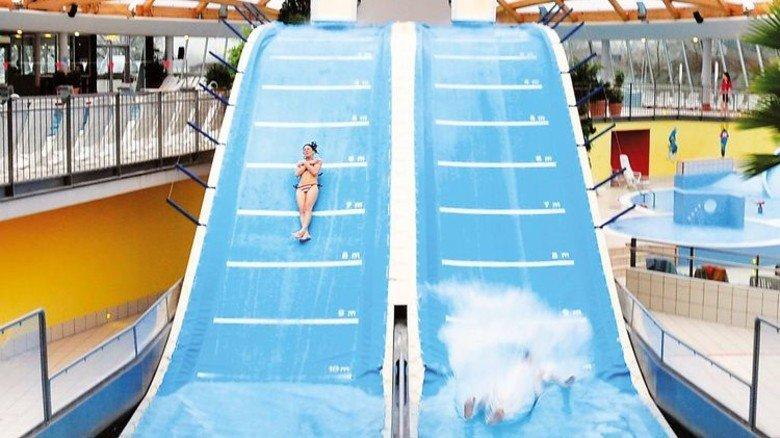 """Luftig: Die Sprungschanze """"Jumper"""" lässt einen abheben. Foto: Elypso"""