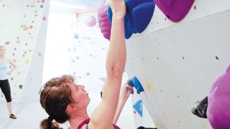 Training: Boulderpoint Kaltenkirchen. Foto: Boulder-Point