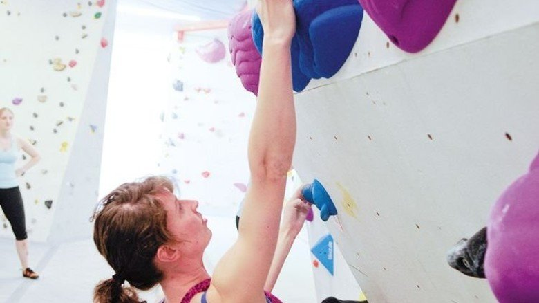 Training: Boulderpoint Kaltenkirchen. Foto: Boulder-Point