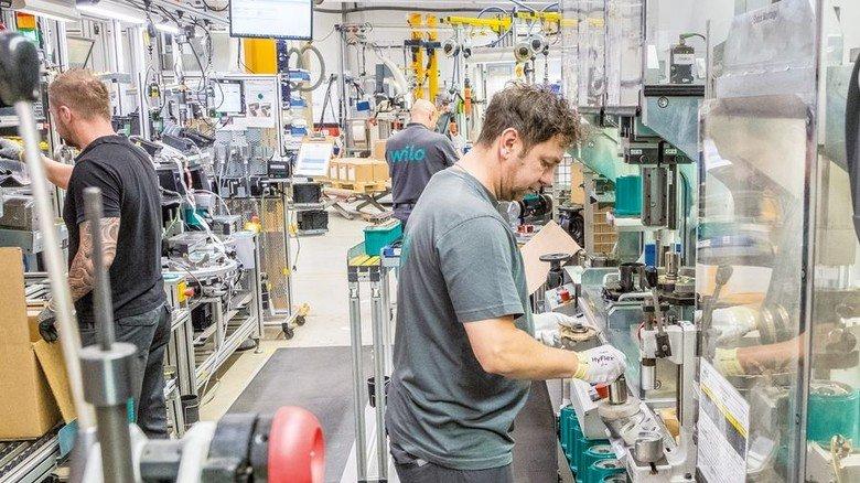 Pumpenbauer Wilo: Das Unternehmen setzt in Dortmund das derzeit größte industrielle Bauvorhaben Deutschlands um.Foto: Roth
