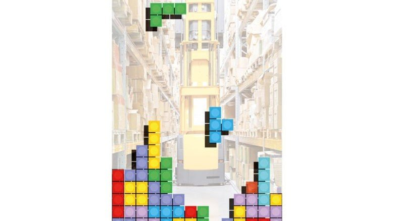 Wie im Computerspiel: Bei moderner Logistik hilft intelligentes Stapeln und Rangieren. Foto: AdobeStock