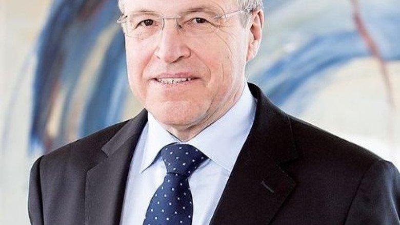 Klartext: vbw-Präsident Alfred Gaffal kritisiert die Bundesregierung. Foto: vbw
