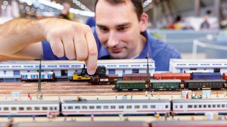 """Detailgetreu: Auch Eisenbahnen gibt's bei der """"Modell+Technik"""". Foto: Veranstalter"""