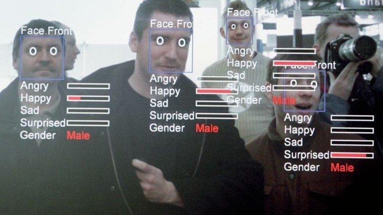 Bedrohung einschätzen: Software scannt Mimik und Körperhaltung. Foto: Getty