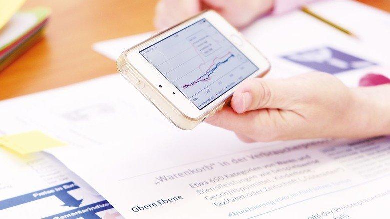 Teurer oder billiger? Der amtliche Preismonitor im Web ist für jeden zugänglich.