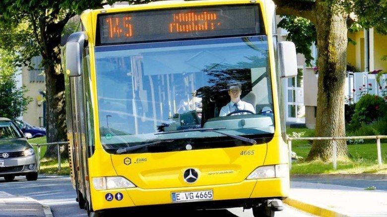 Kommunal: Ein Bus der EVAG, einer 100-prozentigen Tochter der Essener Stadtwerke. Foto: Funke