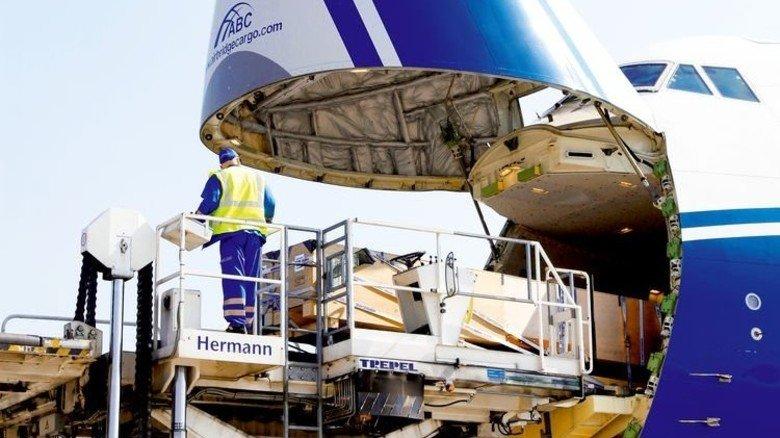Waren für die Welt: Luftfracht auf dem Frankfurter Flughafen. Foto: Fraport