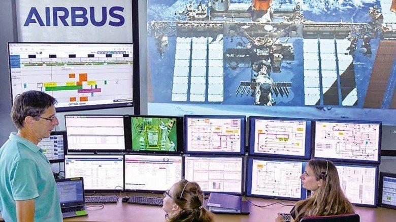 Fernsteuerung: Bei Airbus in Friedrichshafen wird es überwacht. Foto: Werk