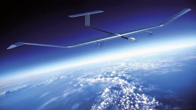 Konditionswunder: Das unbemannte Airbus-Flugzeug fliegt mit der Kraft der Sonne. Foto: Airbus