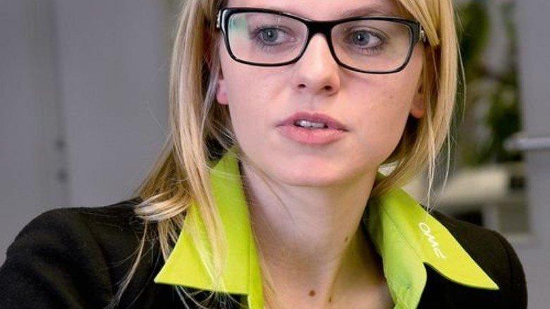 """""""Es ist immer ein Betreuer da, der sich um die jungen Kollegen kümmert."""" Katharina Benz, Ausbilderin. Foto: Mierendorf"""