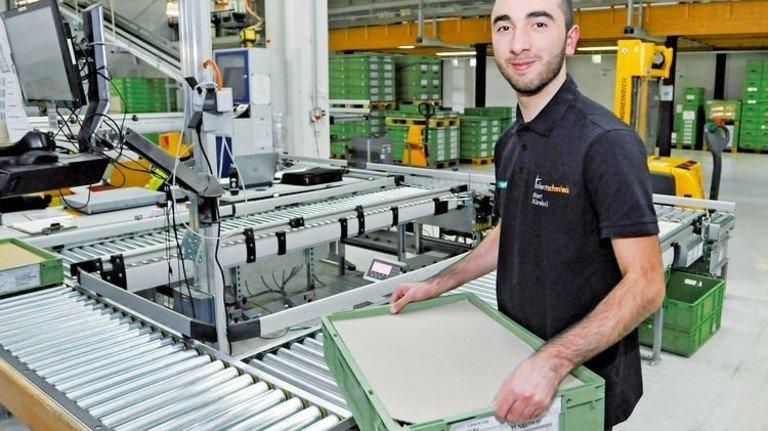 Neue Erfahrung: Mert Kürekci arbeitete vier Wochen lang in Frankreich. Foto: Sigwart