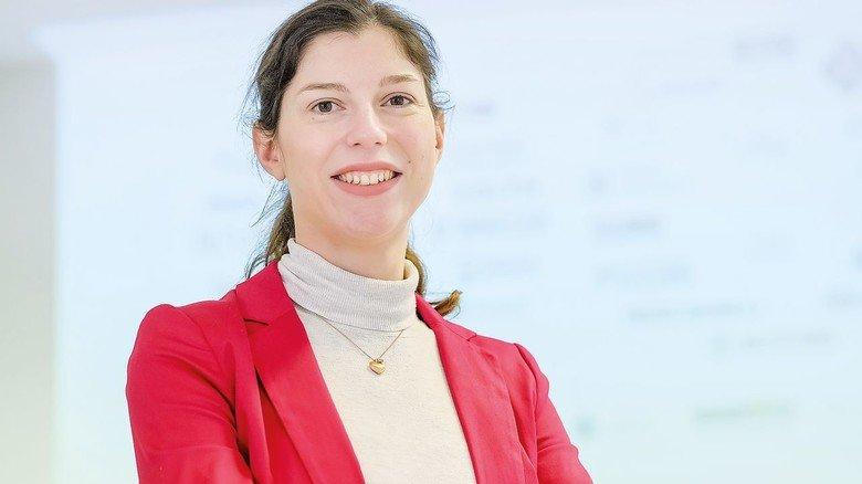 Kommunikation gehört zum Job: Stella Hellmigk ist Geschäftsführerin der Kooperationsinitiative Maschinenbau in Braunschweig.