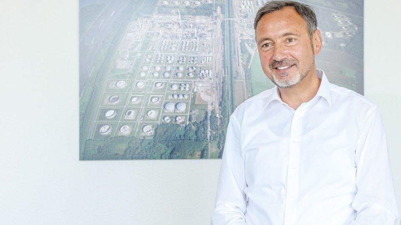 Ralf Schairer, Geschäftsführer der Mineraloelraffinerie Oberrhein (MiRO).
