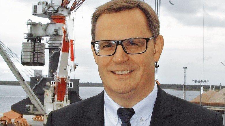 Sieht chancen für Offshore: Leopold Berthold, Geschäftsführer Vertrieb bei Liebherr-MCCtec Rostock.