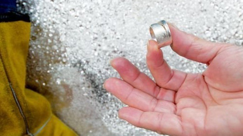 Alles Silber: Die Edelmetalle sorgen für das Gros des Umsatzes. Foto: Moll