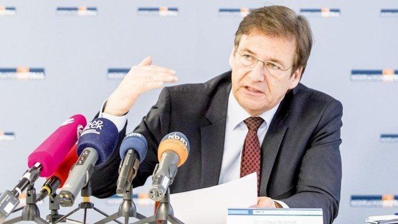 Sorgt sich um die Investitionen: Volker Schmidt, Hauptgeschäftsführer des Arbeitgeberverbands. Foto: Albertin