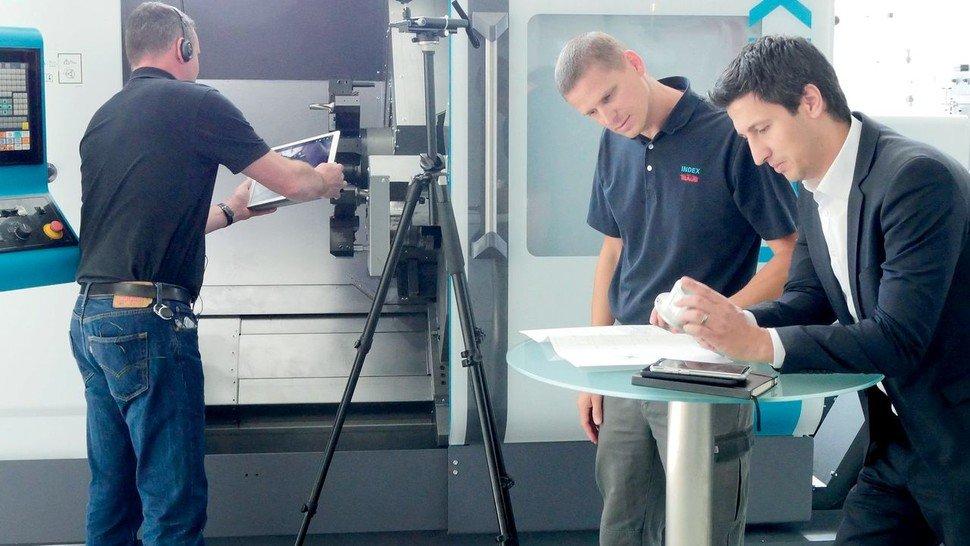Virtuelle Maschinenabnahme: Ihre Vorteile werden im Maschinen- und Anlagenbau längst intensiv genutzt, hier etwa bei Index in Esslingen.
