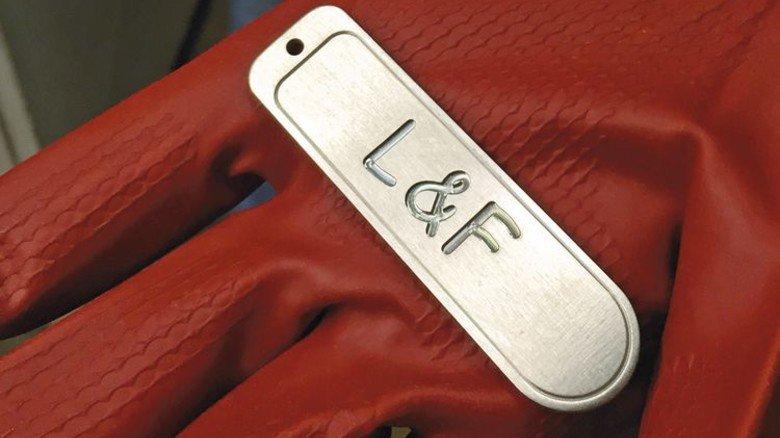 Praxisbeispiel: Der Schlüsselanhänger … Foto: Werk