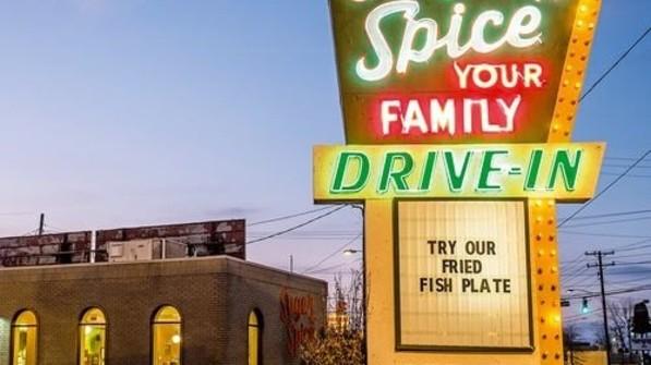 American Diner: Impression aus der 40.000-Einwohner-Stadt. Foto: Roth