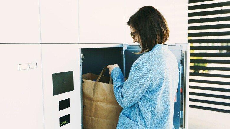 Nicht nur für Pakete: In den Boxen lassen sich auch andere Dinge deponieren.