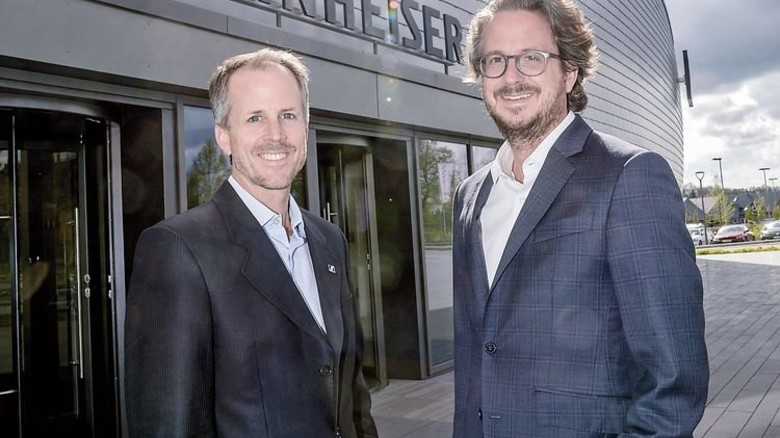 Offen für Neues: Die Firmenchefs Andreas und Daniel Sennheiser. Foto: Werk