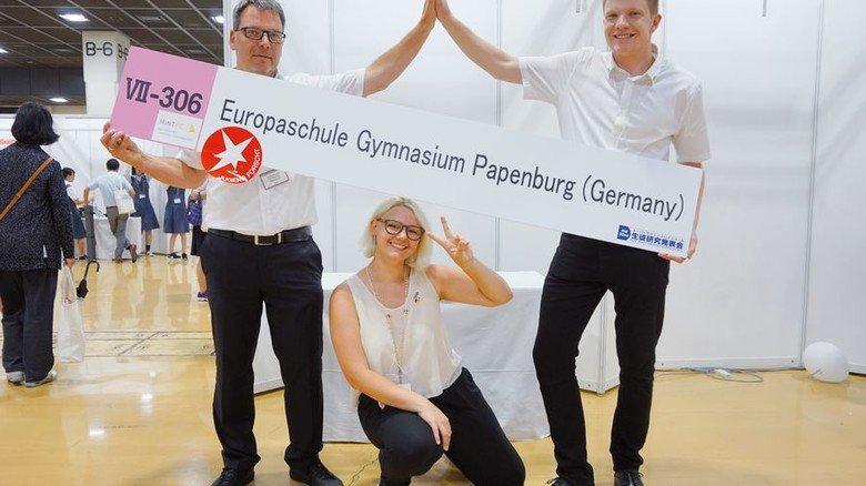 Die Sieger: Lilian Jasmina Rieke und Tim-Lorenz Depping aus Papenburg. Foto: Werk