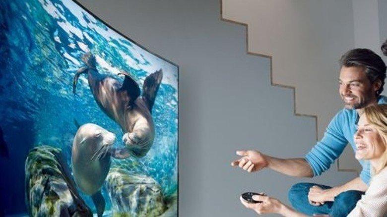 TV total: Innovationen wie HDR sollen die Zuschauer bei Laune halten. Foto: Samsung