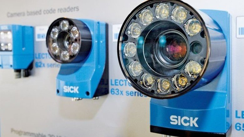 Hightech: Sensoren mit Kamera überwachen die Sortierprozesse im Betrieb. Foto: Sigwart