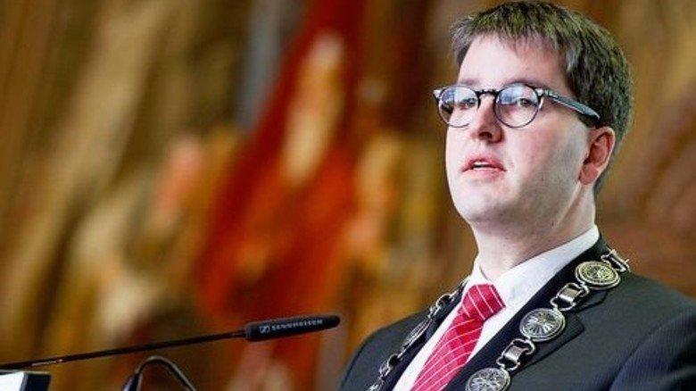 Bürgermeister Junk: Erregte mit seiner Idee weltweit Aufsehen. Foto: dpa