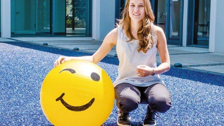 Optimistisch: Svenja Polst, Fraunhofer-Institut Kaiserslautern, setzt auf digital vernetzte Mobilitätslösungen. Foto: Roth