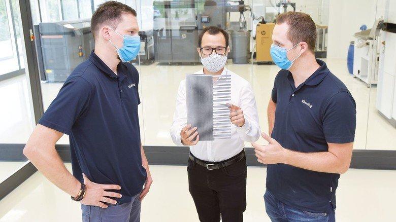 Die Experten tauschen sich ständig aus: Eike Birk, David Torres und Knut Figaj (von links).