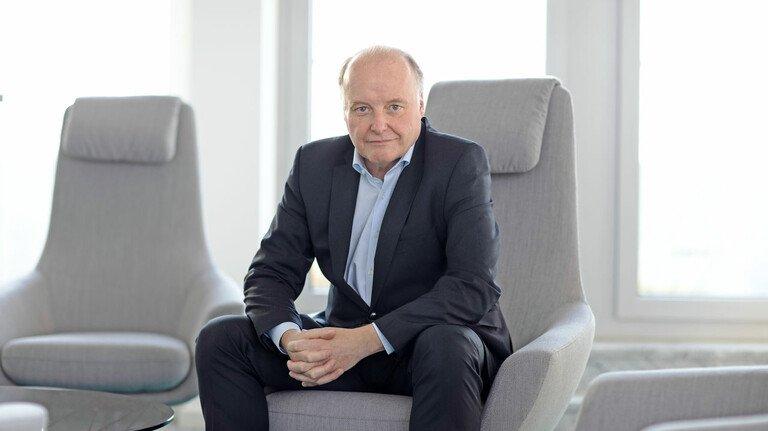 Er vertritt eine der wichtigsten Branchen Deutschlands: Gunther Kegel.
