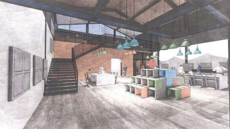 Erste Pläne: Das Technikzentrum in Hagen soll auf 200 Quadratmetern entstehen.