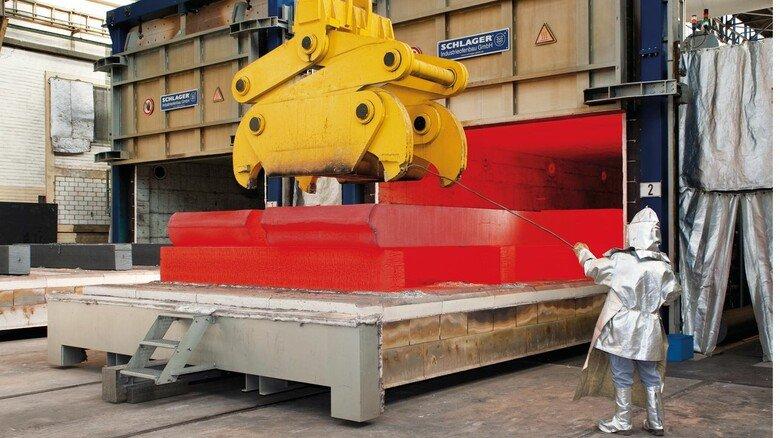 Im Einsatz: Die Industrieöfen der Hagener Firma Schlager sind in der Stahlverformung unersetzlich.