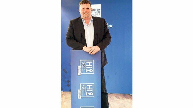 """Matthias Mehler: """"Da ist richtig Dampf unterm Kessel"""", sagt der Vereinsvorsitzende und Chef der Werftengruppe."""