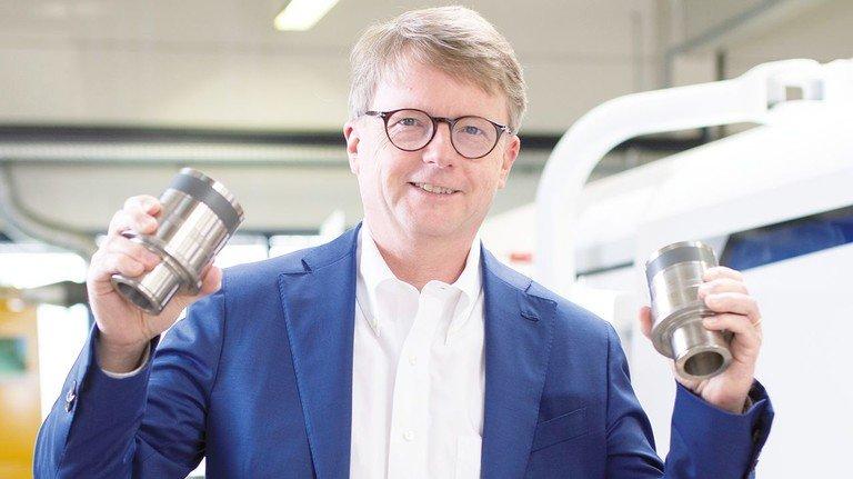 Wachstum in Sicht: Geschäftsführer Jens Putzier in der Produktion.