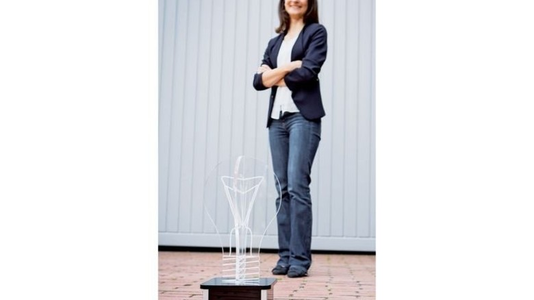Ideen-Gewinnerin: Marta Canas-Ventura, Physikerin bei Evonik. Foto: Werk
