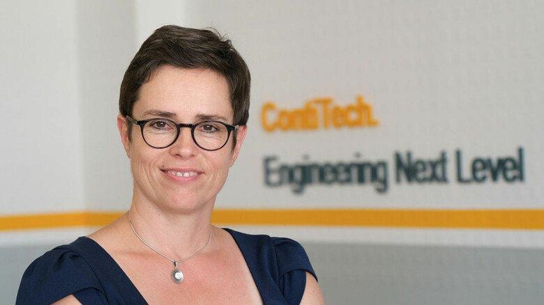 """Ines Braunholz, Personalchefin am Conti-Standort  Waltershausen: """"Qualifizierung dient der  Beschäftigungsfähigkeit unserer Belegschaft."""""""