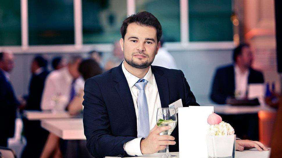 Jevgenij Peyss, Leiter Vertrieb von DARZ in Darmstadt