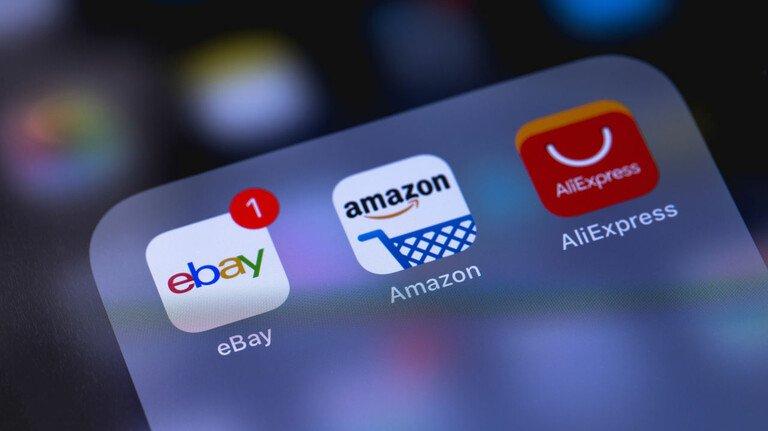 Starke Konkurrenz: Der Online-Pionier Ebay muss sich gegen große Handelsplattformen wie Amazon oder Alibaba behaupten.