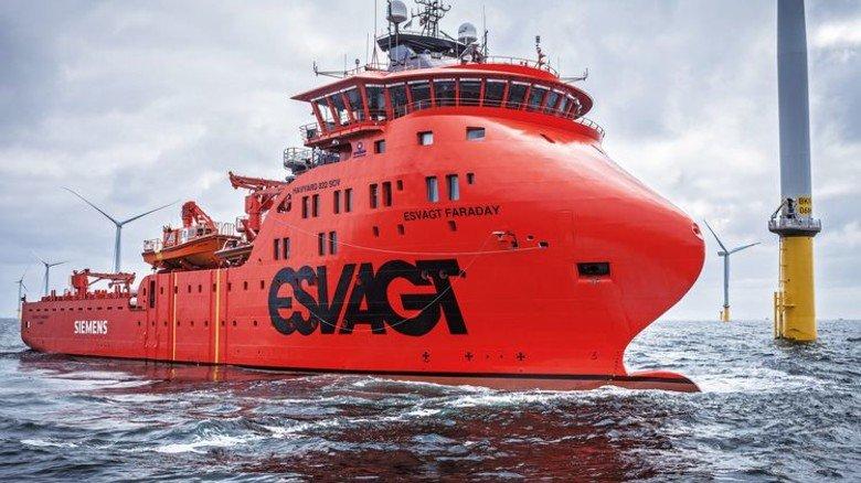 Maßanfertigung: Die Schiffe sind so konstruiert, dass sie auch bei rauer See eingesetzt werden können. Foto: Werk