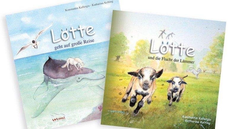Erfolgreicher Autor: Der Ingenieur schrieb auch Kinderbücher über sein erstes Pferd Lotte. Foto: Privat