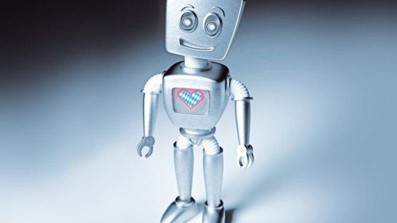 Haben es in sich: In Robotern stecken viele Komponenten bayerischer Hersteller. Foto: Getty; Montage: Roth