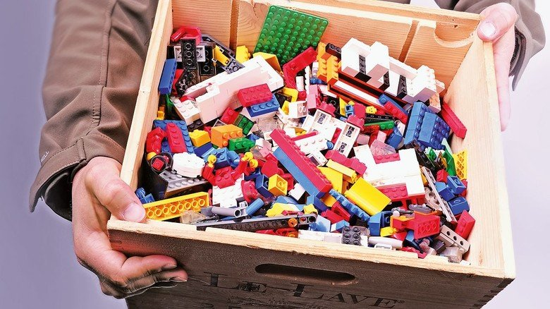 Begehrte Ware: Gebrauchte Legosteine werden im Internet munter gehandelt.