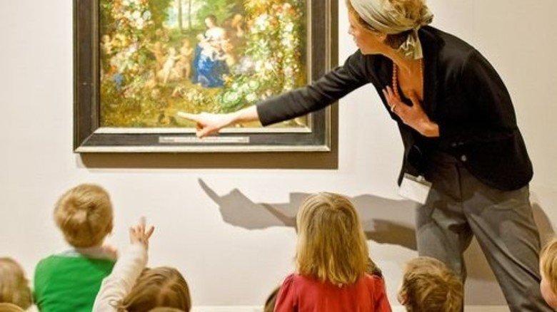 Gut erklärt: Kinder sehen Gemälde mal anders. Foto: Bayerische Staatsgemäldesammlungen