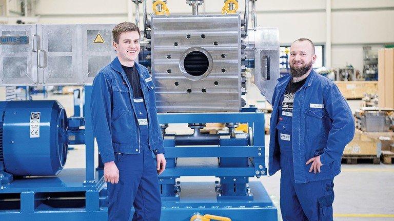 Pumpen-Spezialisten: Witte hat seine Belegschaft am Standort Tornesch in den vergangenen Jahren auf rund 70 Mitarbeiter verdoppelt.