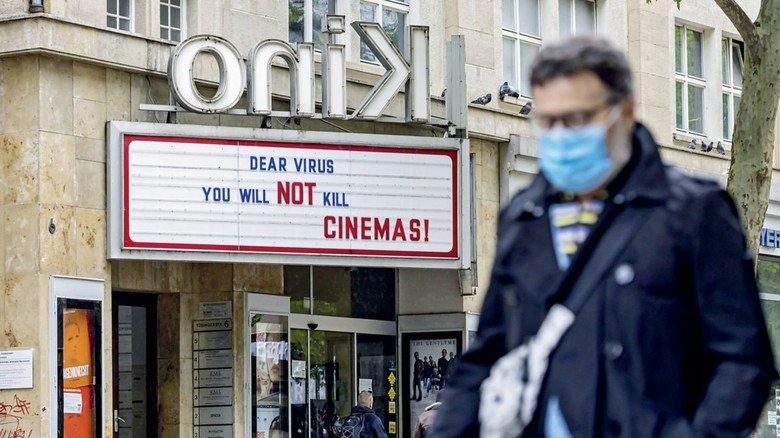 Dear Virus: Ein Kino in Stuttgart gibt sich während des Lockdowns kämpferisch.